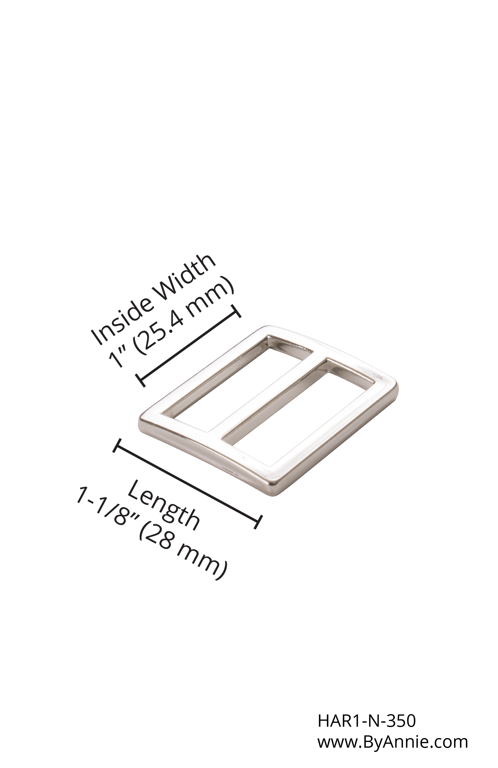 1 Nickel Slider HAR1-N-350