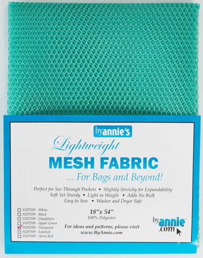 Mesh Fabric 18x54 Turquoise