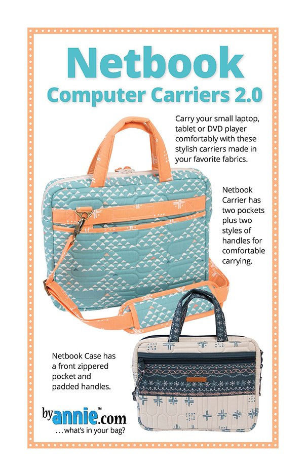 Netbook Computer Carriers 2.0 Patterns By Annie PBA 1862