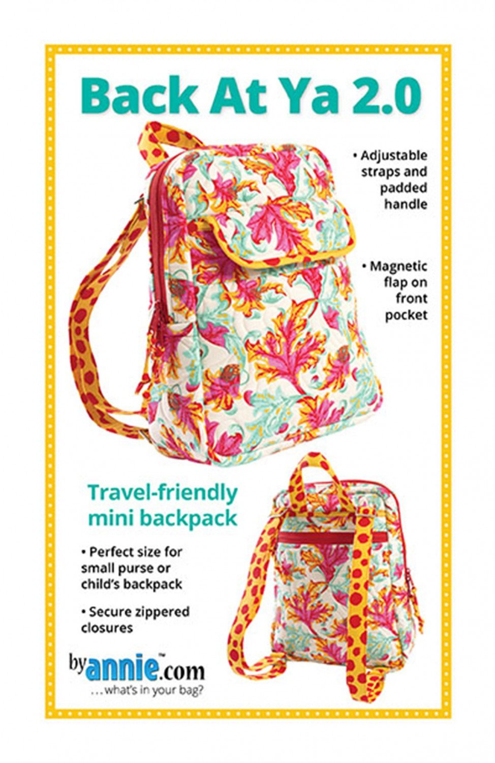 Back At Ya! Mini Backpack 2.0 PBA226-2