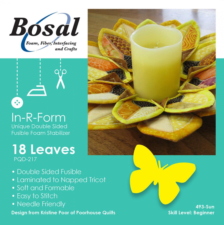 Bosal In R Form for Sunflower Petals Wreath Pattern 493B-SUN