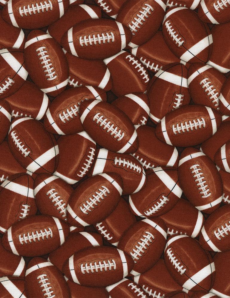Packed Footballs Gail-C4822 Brown