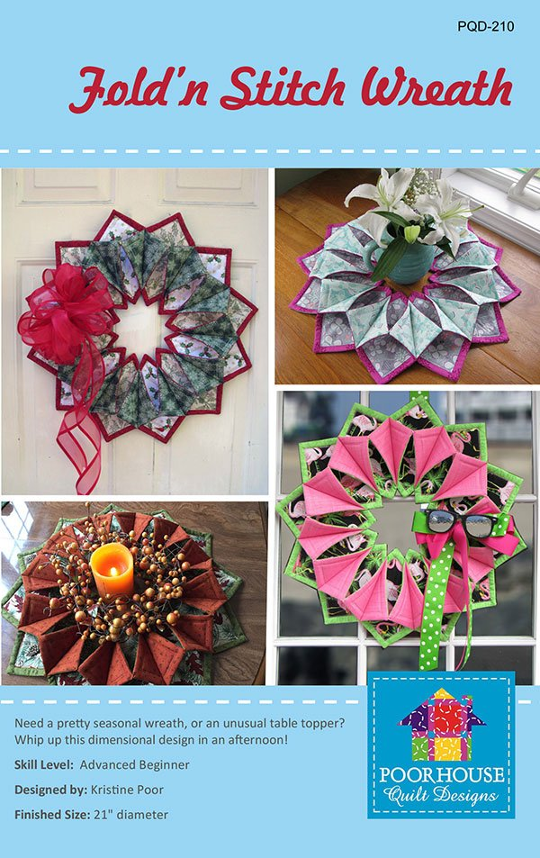 Fold'n Stitch Wreath PQD 210