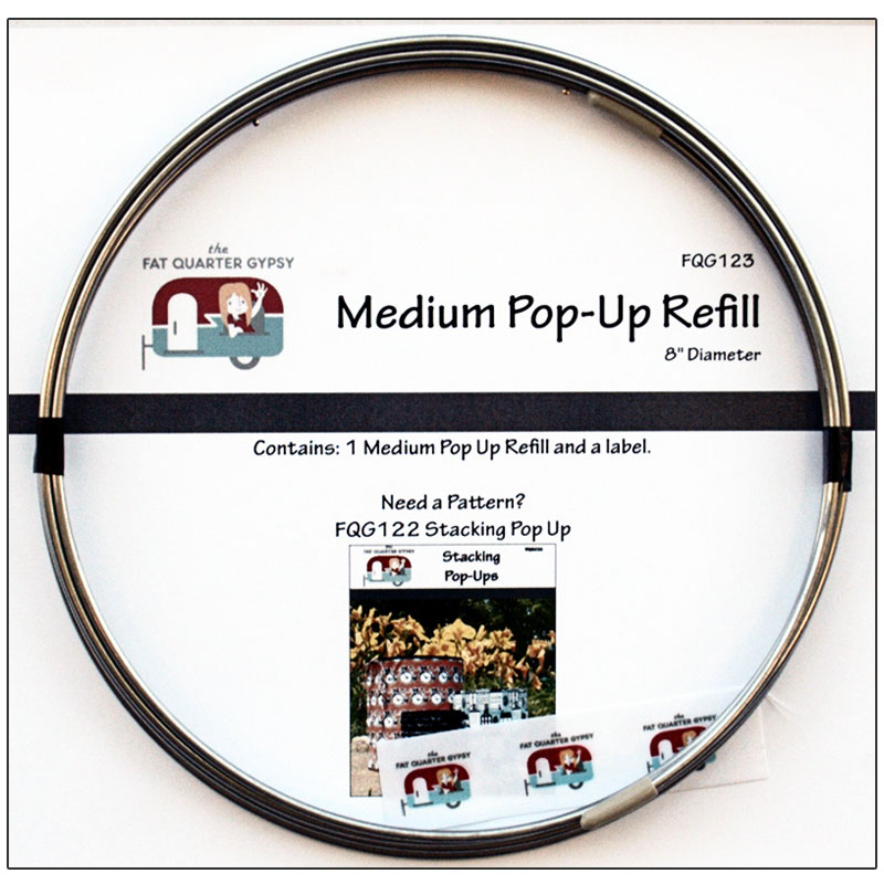 Medium Pop Up Refill 8 FQG 123