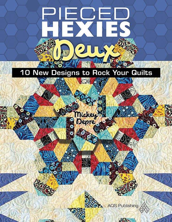 Pieced Hexies Deux AQS 10753