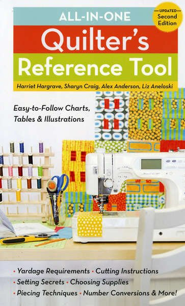 All In One Quilters Reference Tool 2nd Edition 11038