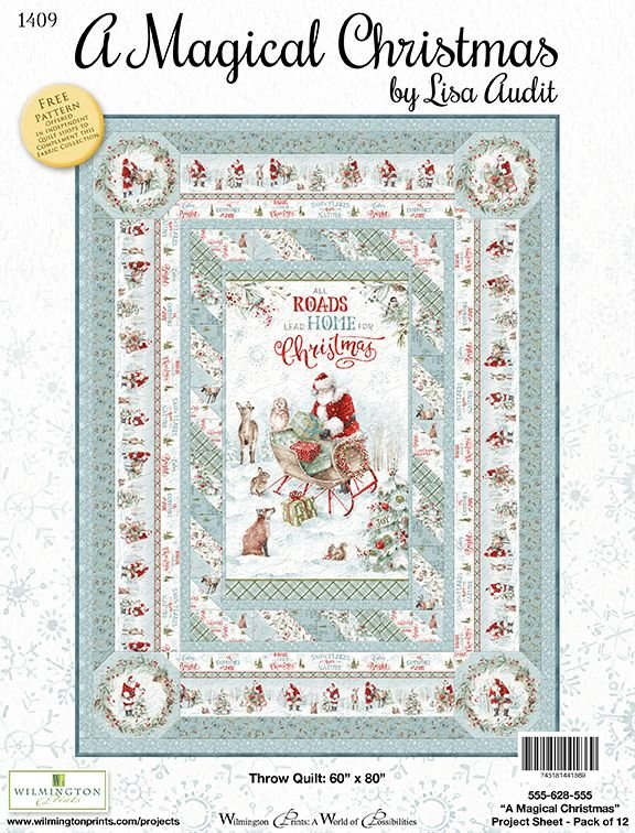 A Magical Christmas Project Sheet