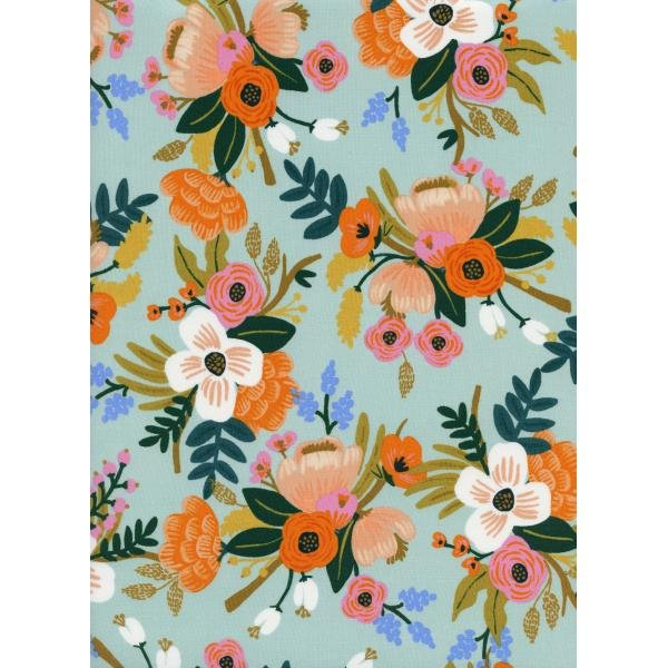 Amalfi Lively Floral Mint Rayon AB8052-035