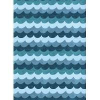 Amalfi Waves Turquoise  AB8048-001