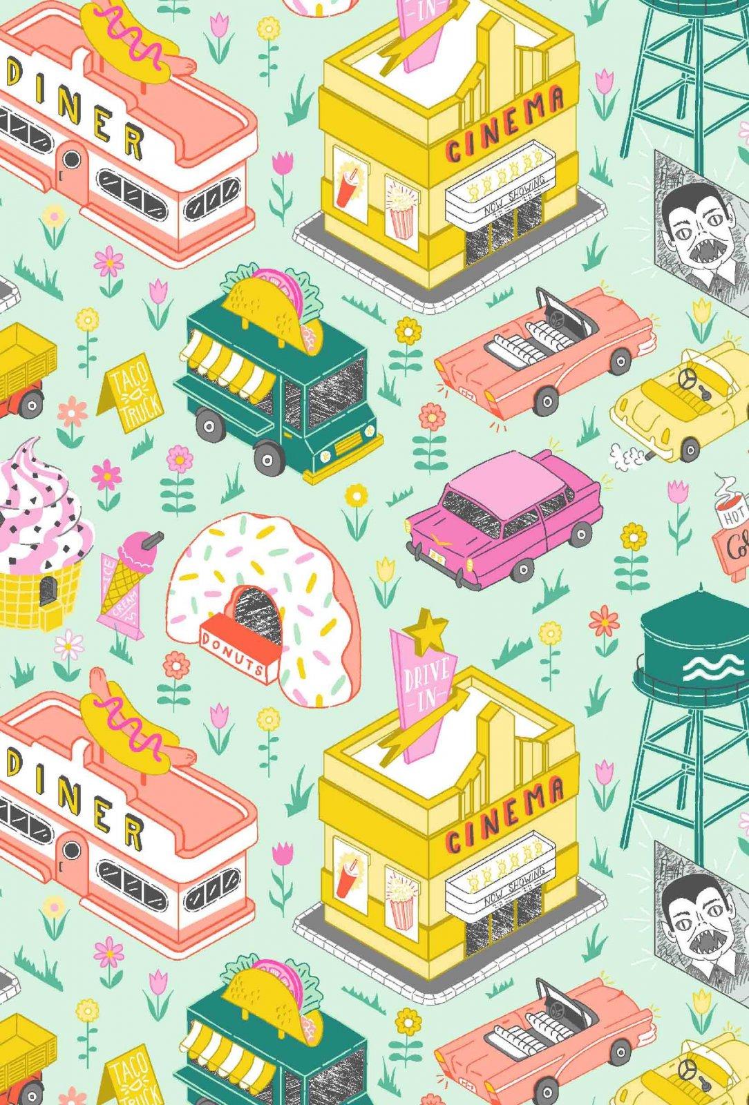 American Road Trip by FIGO Fabrics