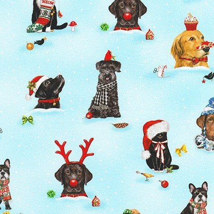 Holly Jolly Christmas Cats Dogs Holiday
