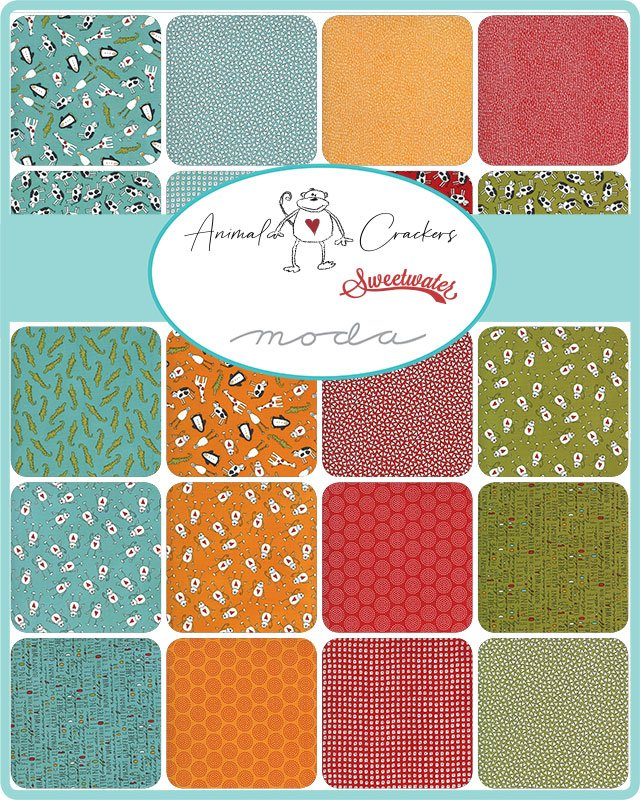 Animal Crackers by Moda Fabrics