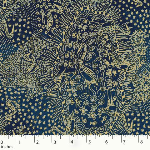 M&S Textiles Brolga Life Blue BLBL