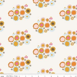 Guinevere Flower Cream C7092-CREAM