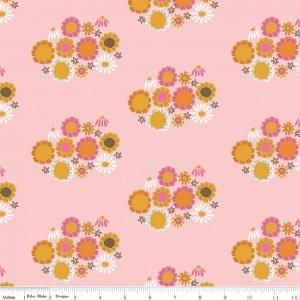 Pink Guinevere Flower C7092-PINK