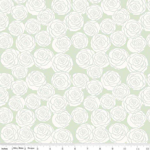 Bliss Roses Mint C8162