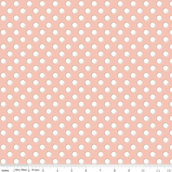 Bliss Dots Blush C8163