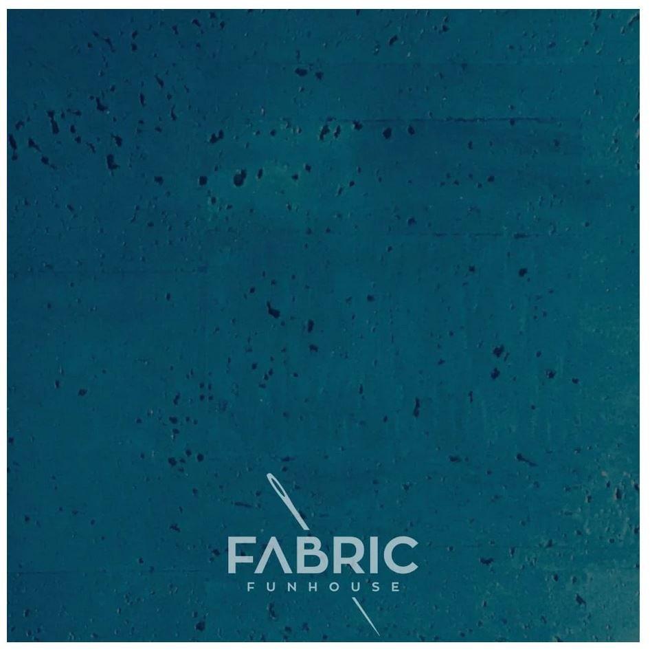 Cork Fabric Lagoon 18 X 27