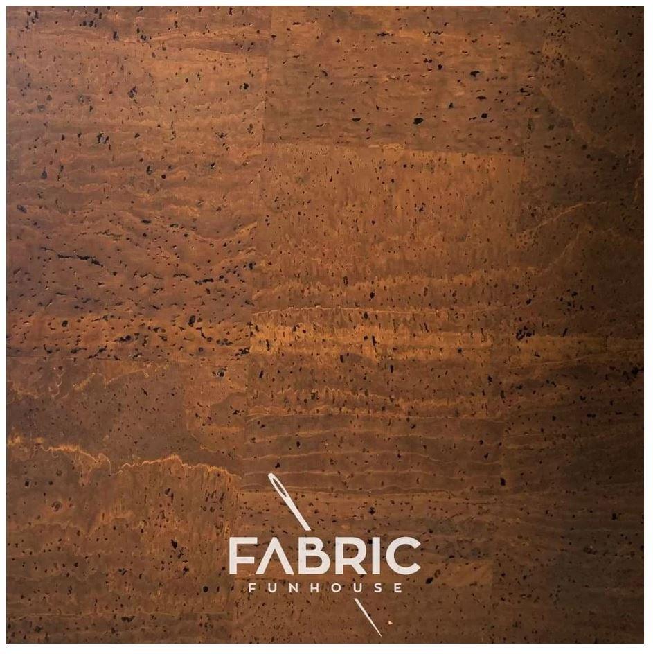 Cork Fabric Milk Chocolate 18 X 27