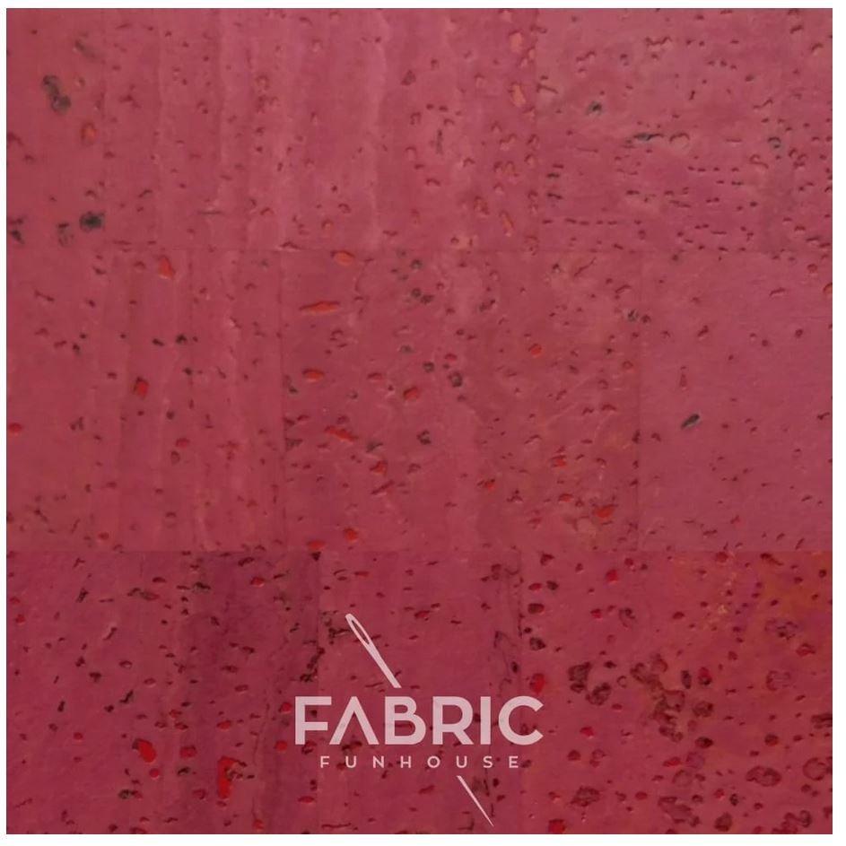 Cork Fabric Pomegranate 18 X 27