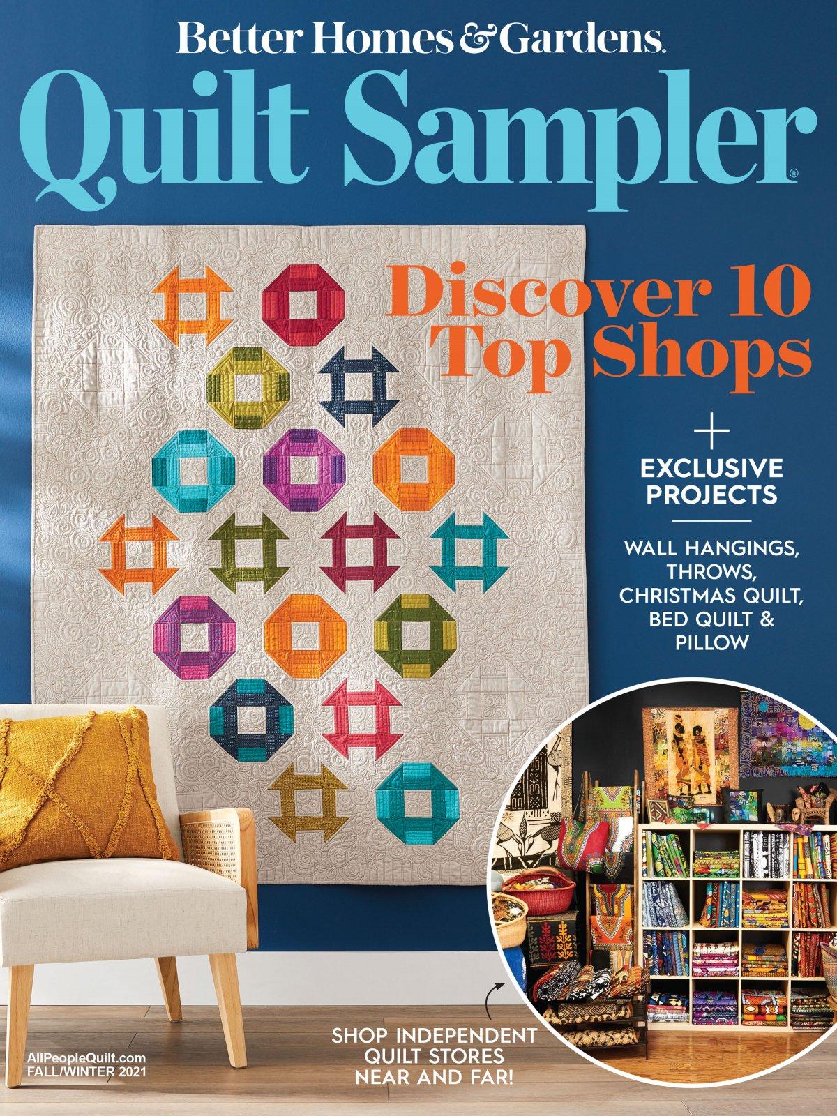 Quilt Sampler Magazine Fall Issue FALL 2021