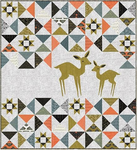 Dwell Possibility Darling Doe Quilt Kit