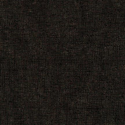 Essex Yarn Dyed Metallic LICORICE E105-1792