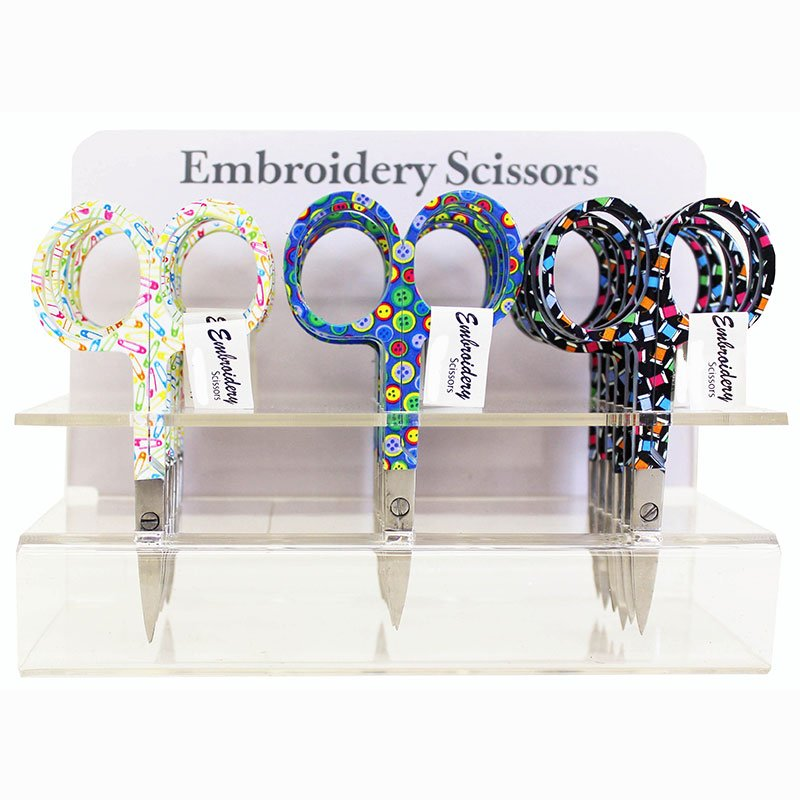 Emb Scissor 3 W/fun Prints 6340 17