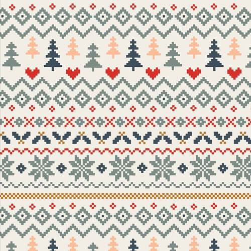 Warm & Cozy Frost in Flannel F 25123 2