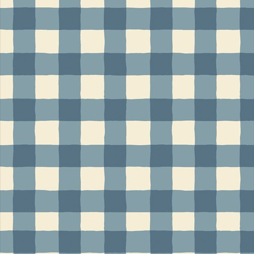 Plaid of My Dreams Sky in Flannel F 805