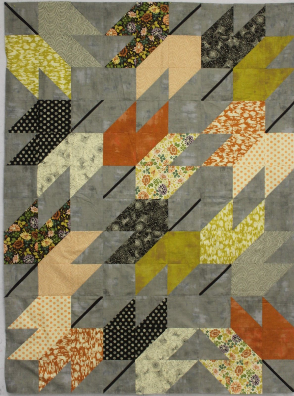Hallo Harvest Falling Quilt Kit