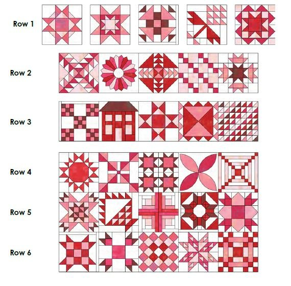 Stitch Pink Final Quilt Assembly Free Digital Download