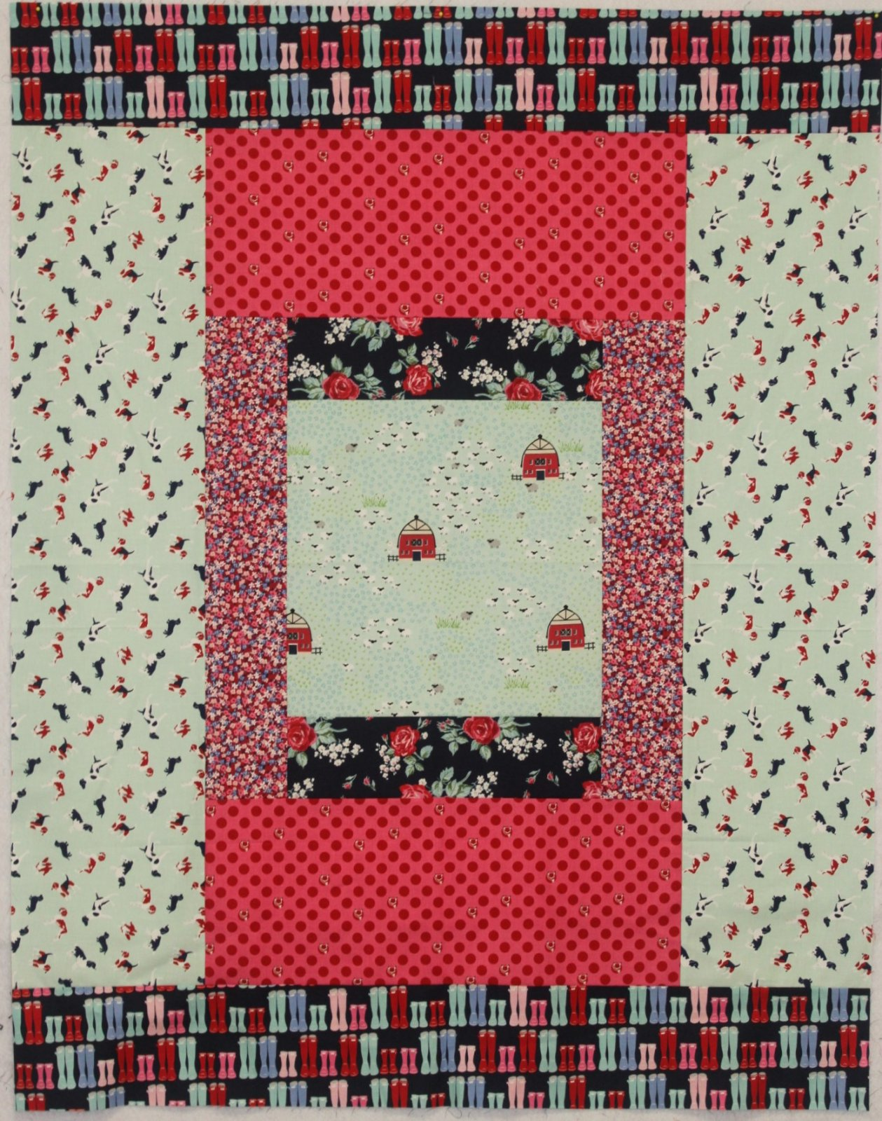 Fox Farm Cabin Fever Quilt Kit