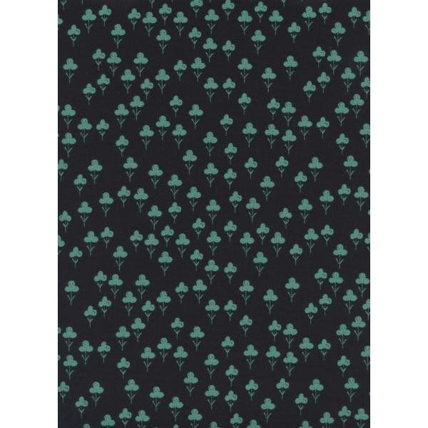 Front Yard Clovers Teal S2073-002