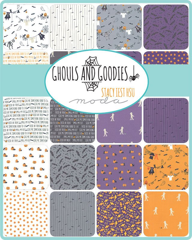 Ghouls and Goodies by Moda Fabrics