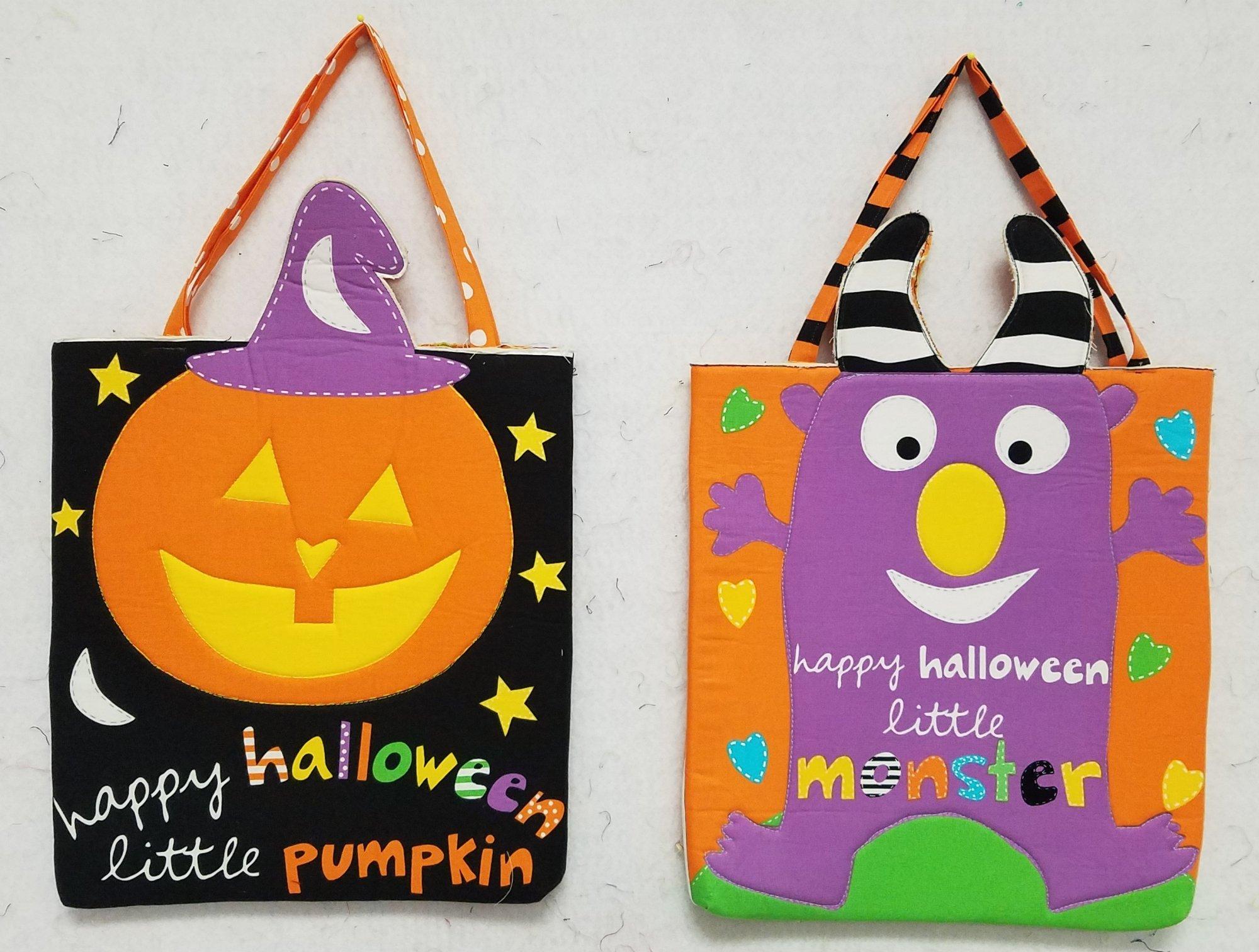 Halloween Tote Bag Samples