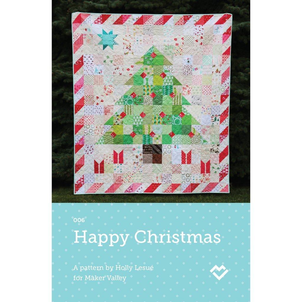 Happy Christmas Pattern MV 006