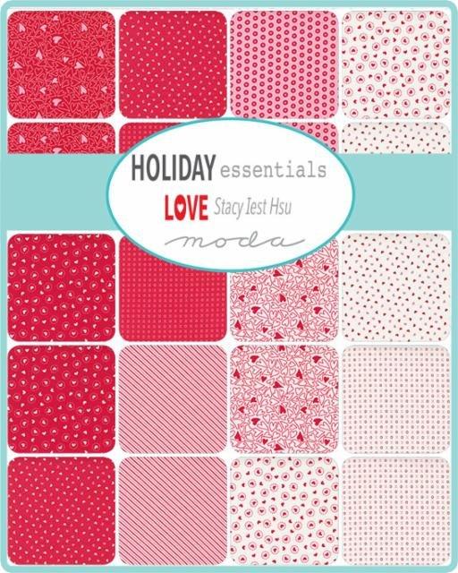 Holiday Love by Moda Fabrics Coming May 2021