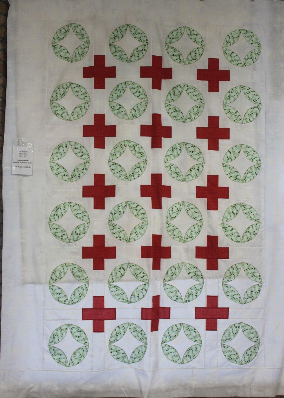 Petal Plus Quilt Kit 68 X 88