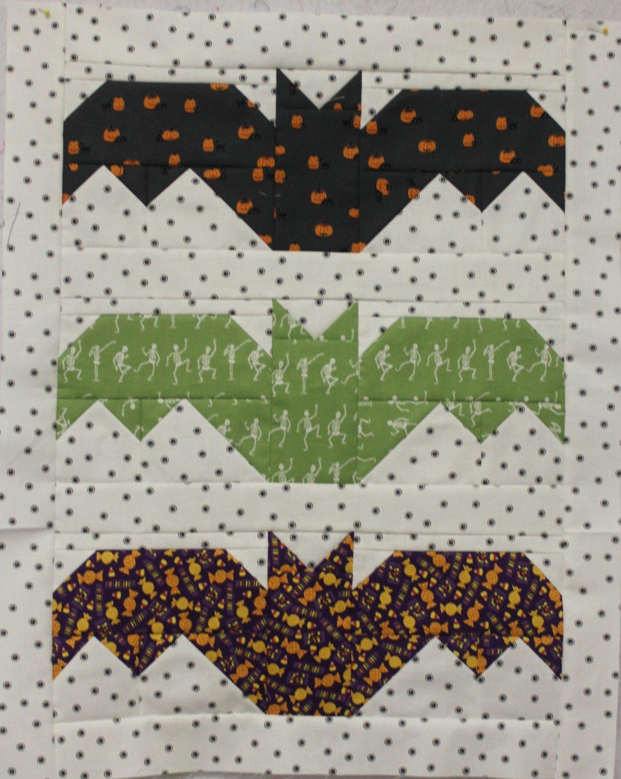 Lil Batty Wall Quilt Kit