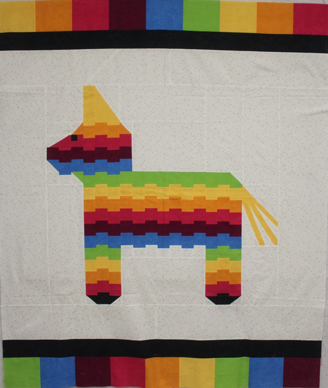 Henry the Pinata Quilt Kit