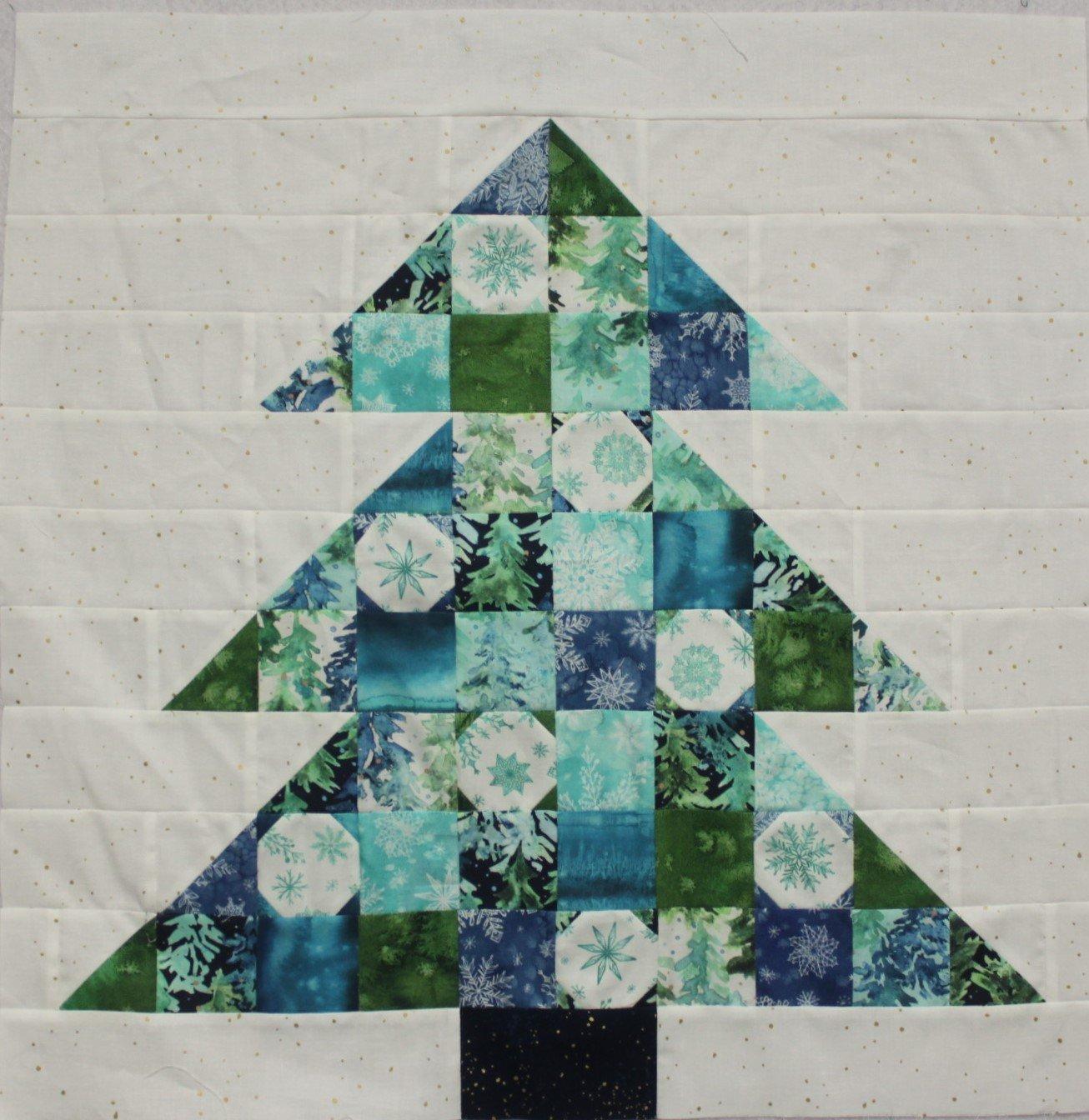 Starflower Christmas Fa La La Quilt Kit