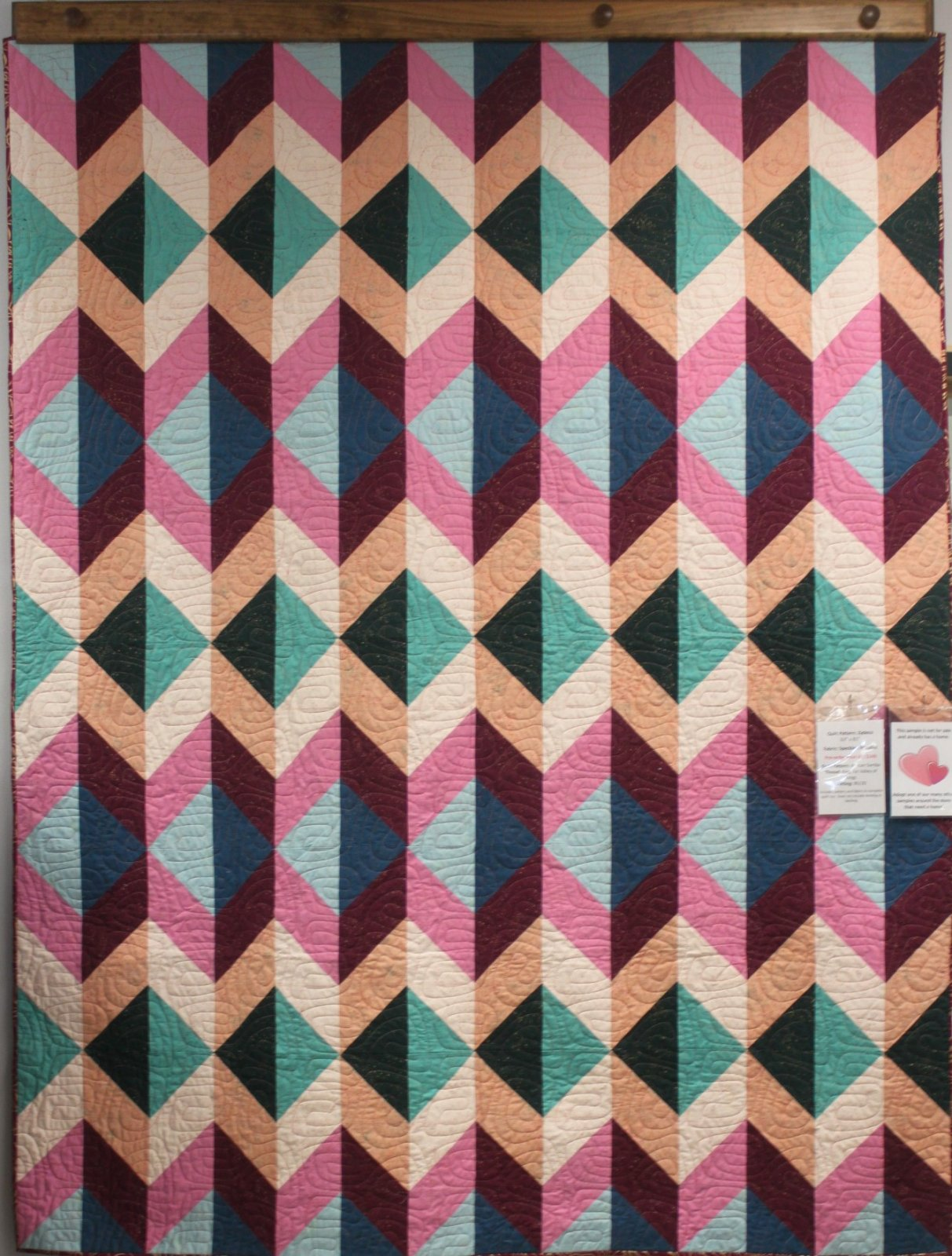 Zydeco Speckled Metallic Quilt Kit Preorder