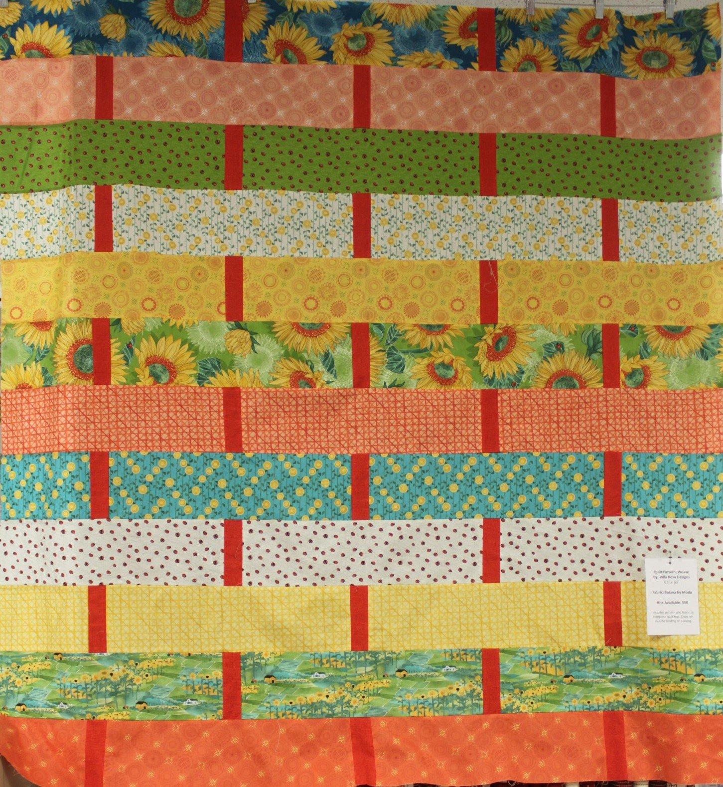 Solana Weave Quilt Kit