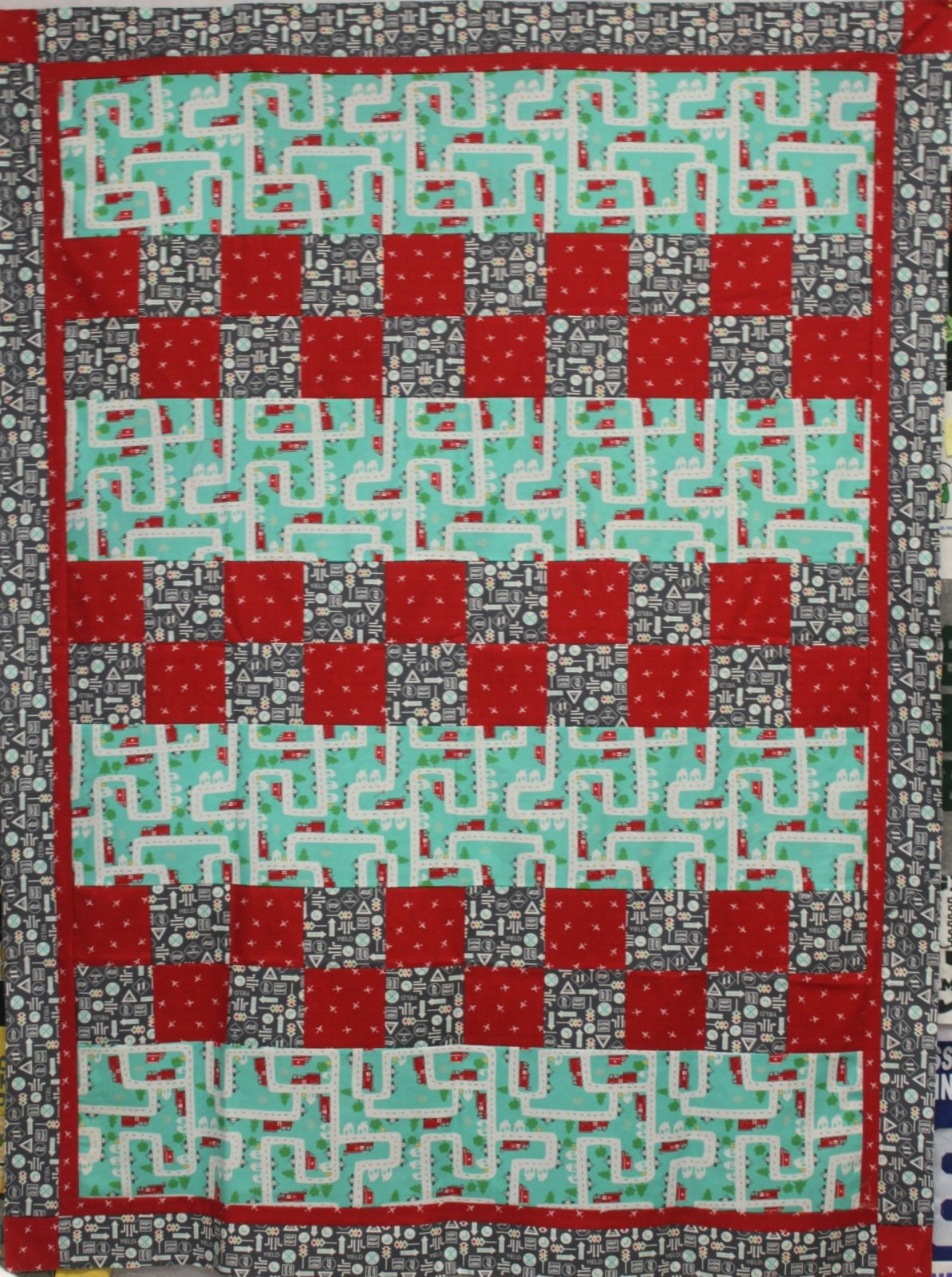 On the Go Checkmate Quilt Kit