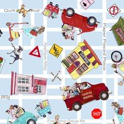 It's a Shop Hop by QT Fabrics