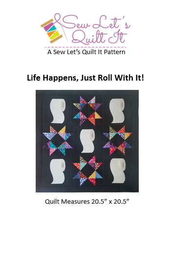 Life Happens, Just Roll With It! Digital Download
