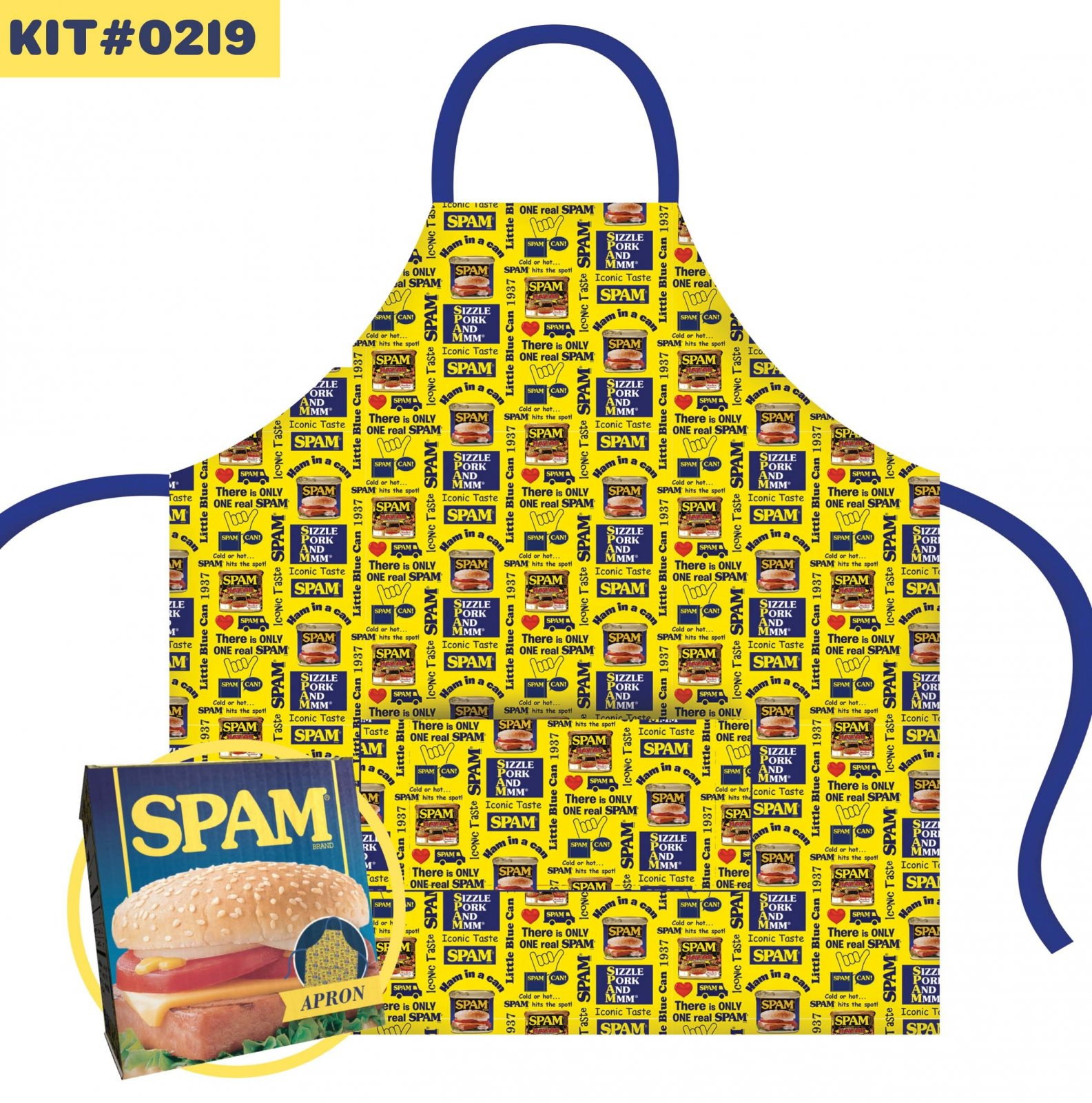 Spam Apron Kit Presell (Coming February 2021)