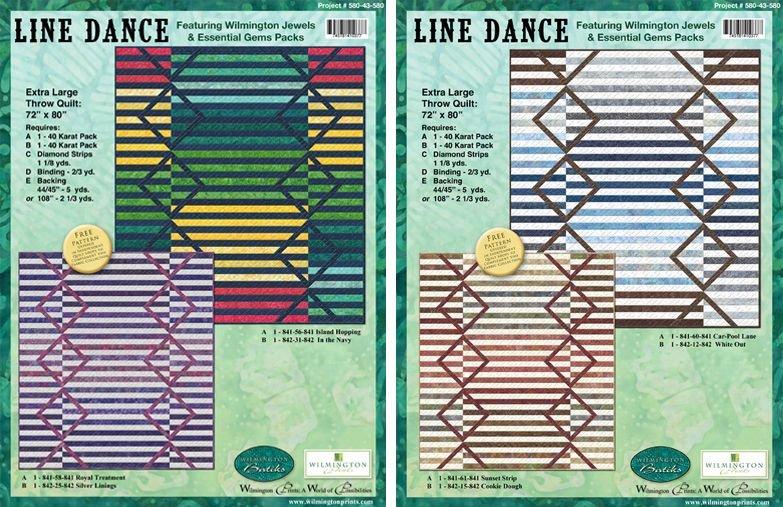 Line Dance Pattern