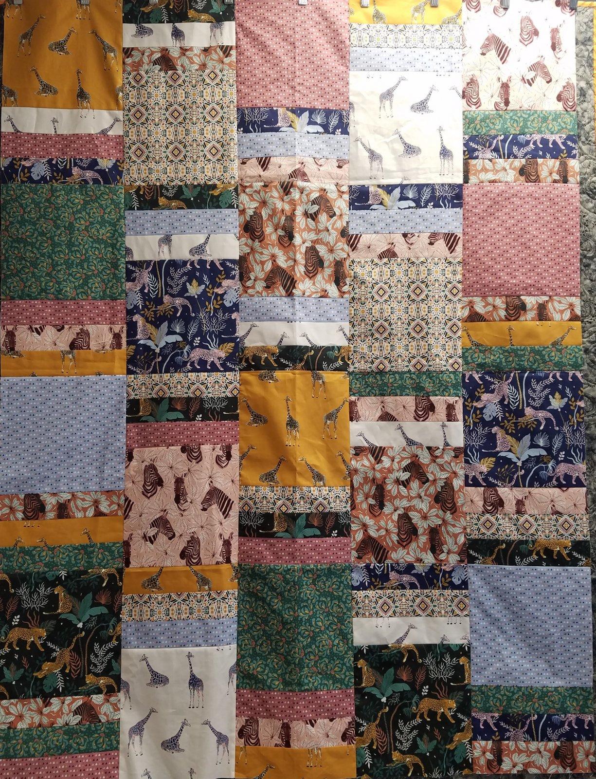 Magic of Serengeti Jubilee Quilt Kit